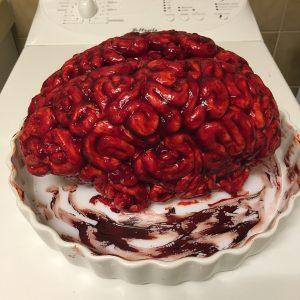Le brain cake : le plus sanglant de tous les cakes !