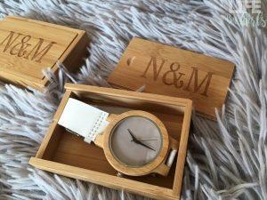 Les montres en bois de chez N&M