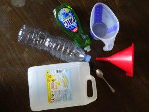 Recette : lave-vitre auto maison