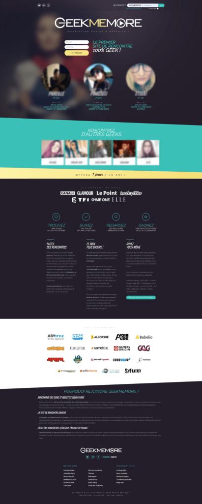 Geekmemore : un site de rencontre 100% Geek