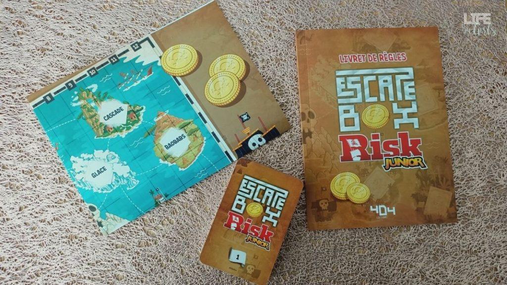 2 escapes box - contenu Risk