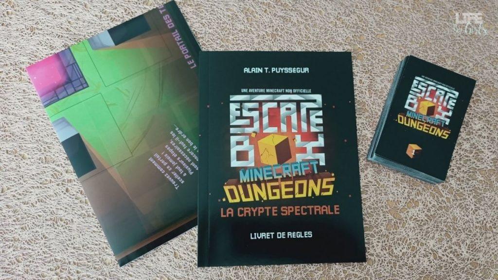 2 escapes box - Minecraft contenu